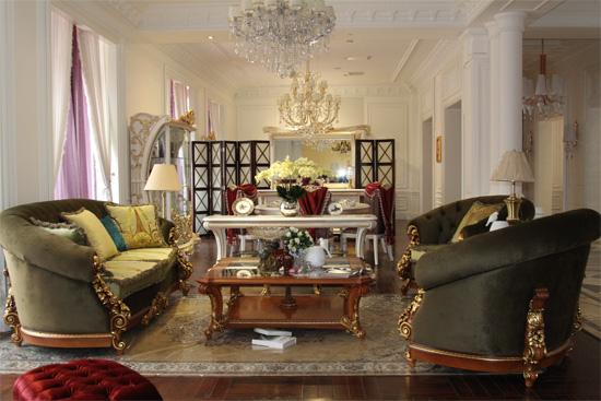 美式风格,意大利新古典风格,法式自然主义风格,巴洛克风格,洛可可风格